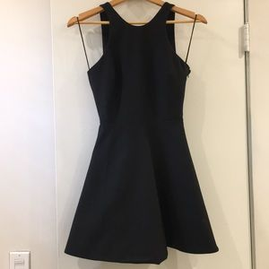 Elizabeth & James Black Bowtie Dress